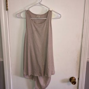 Cute back knot tank top. Winter/Summer Style!